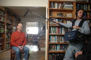 Phil Plait and Audio Engineer Arran Murphy