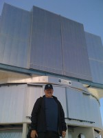 The amazing Massimo Tarenghi, the man who designed and built (with a little help from his friends) the 8 telescopes at Paranal, Chile, run by the European Southern Observatory (ESO)
