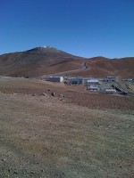 On top of the world in Chile, the ESO telescopic array