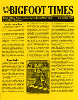 Bigfoot Times cover