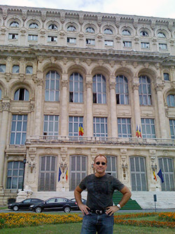 Ceausescu's monument to himself, People's Palace, that Trump tried to buy!