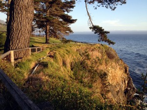 The Esalen grounds