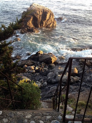 The Esalen ocean access
