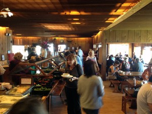 The Esalen cafeteria