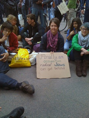 Occupy Wall Street (photo by Michael Shermer)