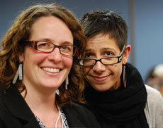 LogiCON speakers Marie-Claire Shanahan and Desiree Schell