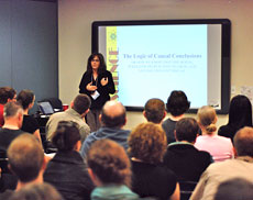 """Barbara Drescher's """"Advanced"""" track lecture about causal inference"""