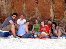 Roy, Brian, Hannah, Sarah, Jamie, Neil, Lauren