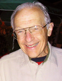 Ray Hyman portrait by Rouven Schäfer (2003)