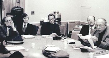 Circa 1979 CSICOP meeting