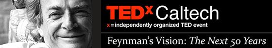 screenshot from TEDxCaltech website