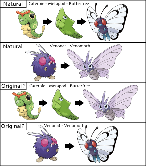 Pokemon Conspiracies, Theories, Myths, and Legends Caterpie