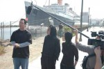 "The ""Ghost Hunters"" offer a warning about the ghosts in the ship"