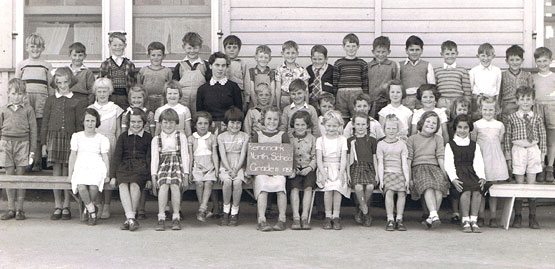 Renmark North School, Grade 2, 1956. South Australia