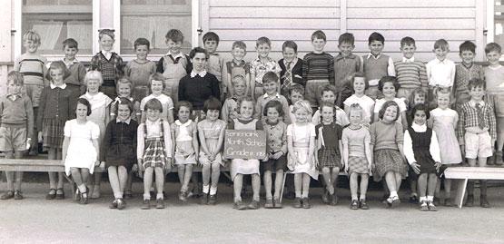 Renmark North School, Grade 2, 1956. South Australia