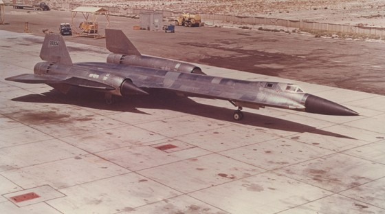 "Lockheed's A-12 spy plane of ""Project OXCART,"" which eventually evolved into the SR-71 Blackbird"