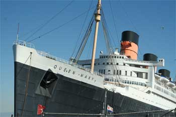 The Queen Mary.  Haunted ship?