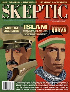 Skeptic magazine volume 16, number 3.
