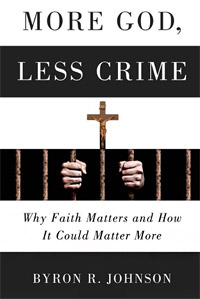 More God, Less Crime (book cover)