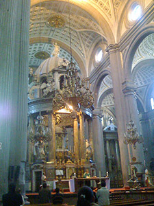 Puebla Cathedral (interior)