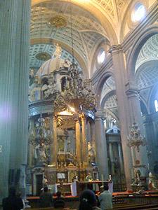 Puebla Cathedral (interior)