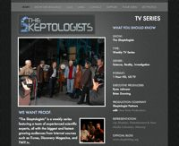 Visit the Official Show Website at www.Skeptologists.com